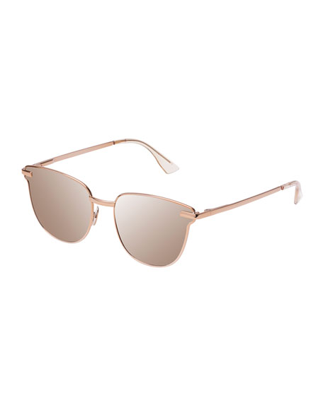 Pharaoh Square Mirrored Sunglasses
