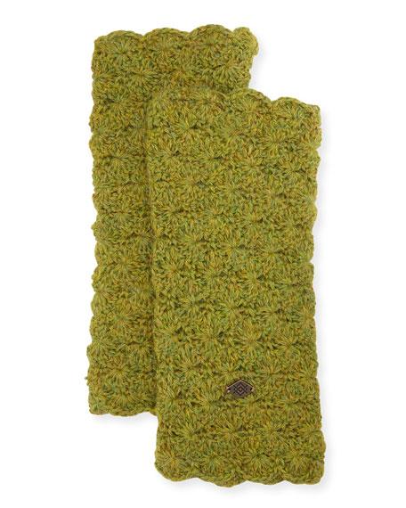 Star Crochet Fingerless Gloves