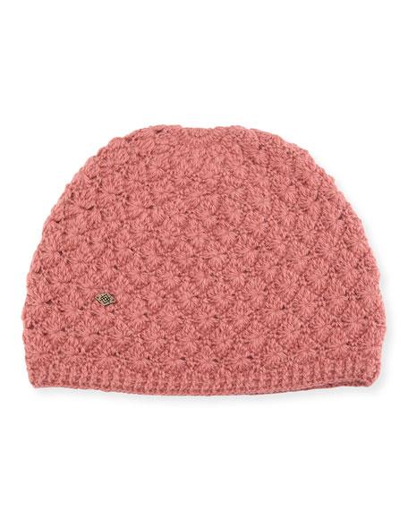 Star Crochet Beanie Hat