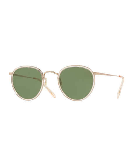 Oliver Peoples MP-2 Round Metal Sunglasses