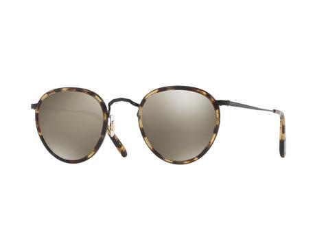 MP-2 Mirrored Round Sunglasses