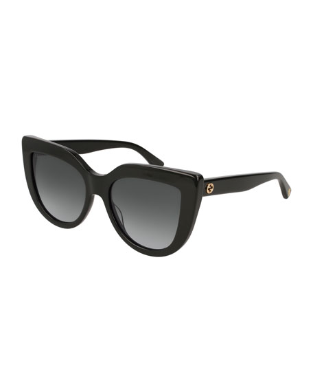 Cat-Eye Gradient Sunglasses