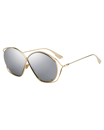 DiorStellaire 2 Round Cutout Sunglasses