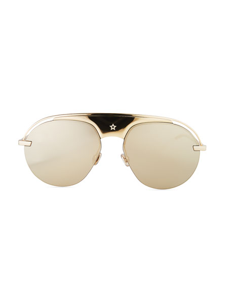 Dio(R)evolution Mirrored Aviator Sunglasses