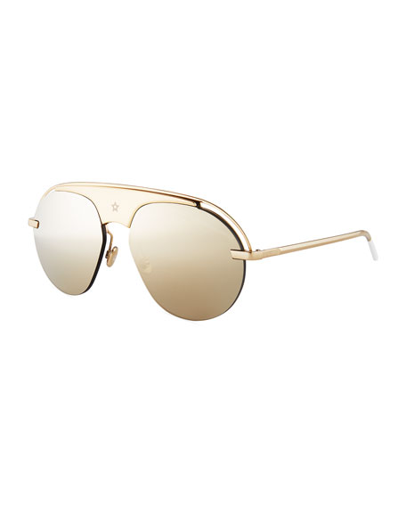 b7836d3fc6b Dior Dio(R)evolution Mirrored Aviator Sunglasses
