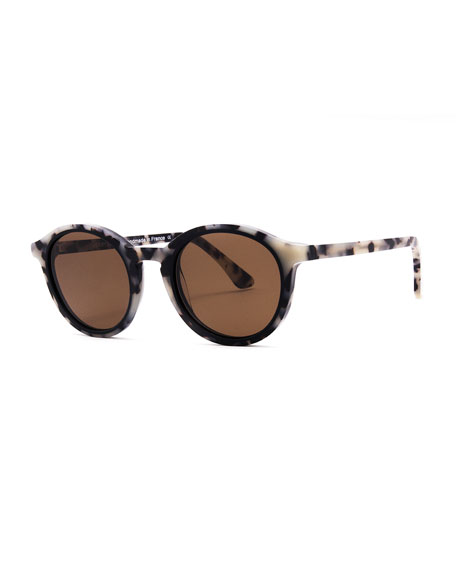 Thierry Lasry BUTTERY ROUND ACETATE SUNGLASSES