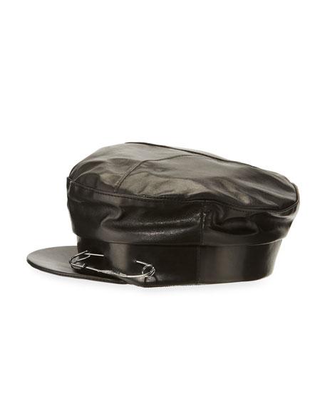 Georgie Leather Hat