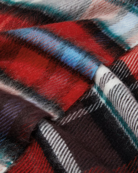 Blends Mega Check Scarf