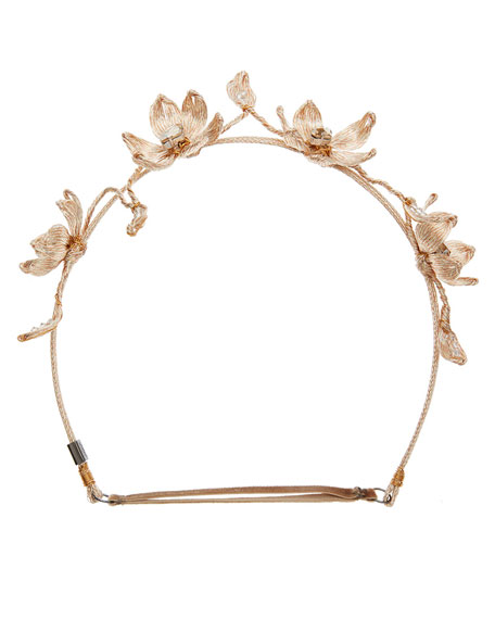 Crocus Mesh Halo Headband