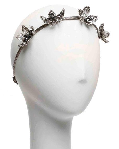 Wild Flower Mesh Crown Headband