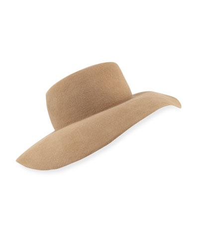 Velour Floppy Fedora Hat