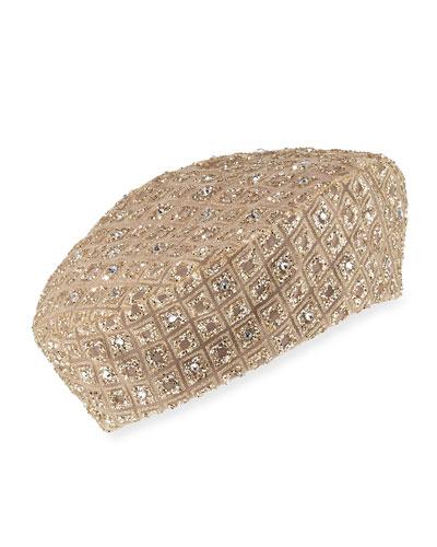 Glitter Swarovski® Crystal Beret