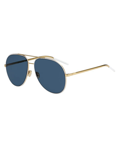 Dior Astrals Metal Aviator Sunglasses