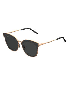 Niles Glittered Cat Eye Sunglasses by Jimmy Choo