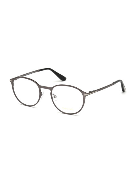 TOM FORD Ophthalmic Round Optical Frames w/ Magnetic