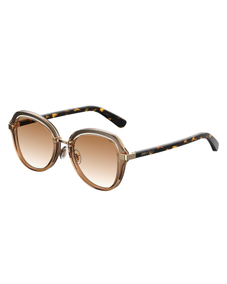 Drees Gradient Butterfly Sunglasses