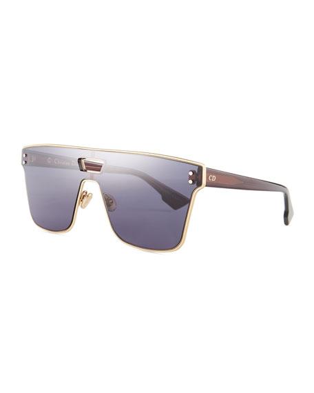 Diorizon Mirrored Shield Sunglasses