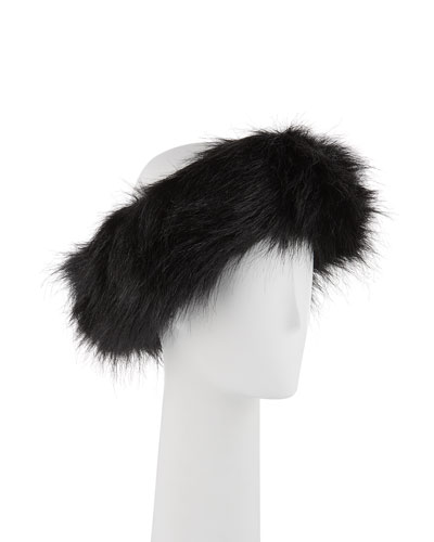 Halo Faux-Fur Headband