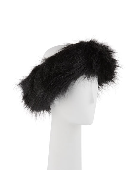 Fabulous Furs Halo Faux-Fur Headband