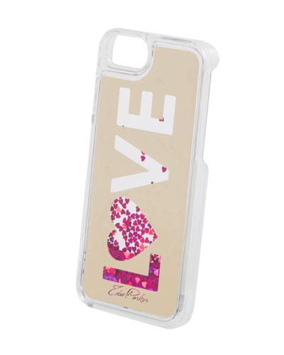 Floating Love Star Glitter Phone Case