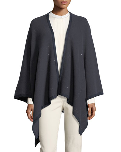 Short Madison Midnight Cape