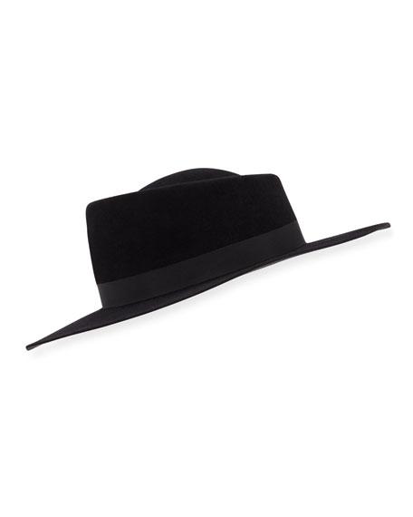 Audrey Wide Felt Hat