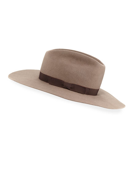 Patti Felt Panama Hat w/ Hat Band