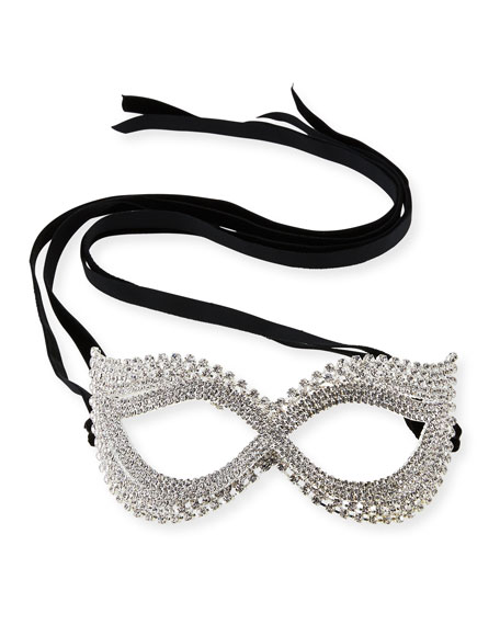 Cat-Eye Crystal Mask