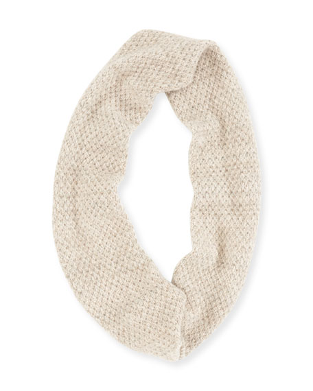 Cashmere Knit Infinity Scarf