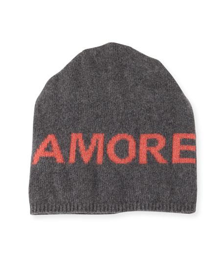 Boyfriend Amore Cashmere Knit Beanie Hat