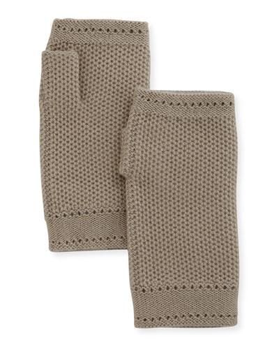 Rougemont Cashmere Fingerless Gloves