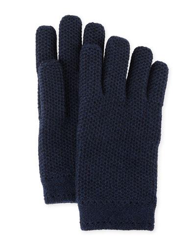 Cashmere Crochet Gloves