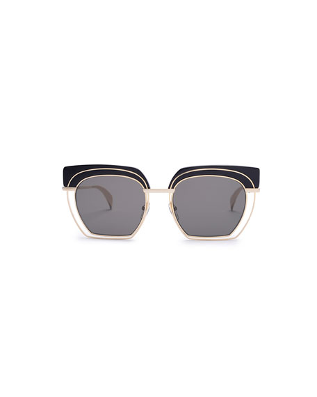 HB-Zero Geometric Sunglasses