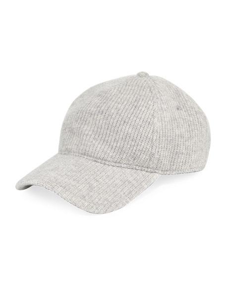 Marilyn Cashmere Knit Baseball Cap