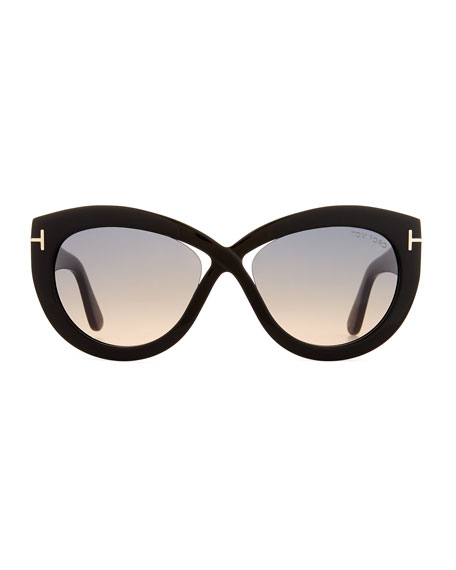 Diane Acetate Butterfly Sunglasses