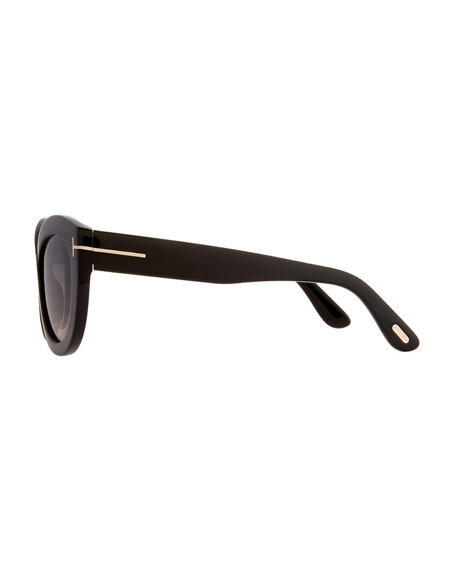 06a904f820 TOM FORD Diane Acetate Butterfly Sunglasses