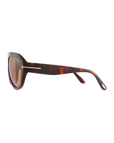 Felix Acetate Shield Sunglasses