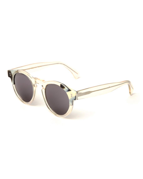 Round Transparent Sunglasses