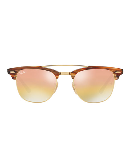 Clubmaster Iridescent Sunglasses