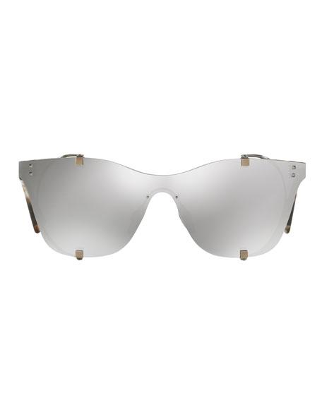 Square Side-Blinder Sunglasses