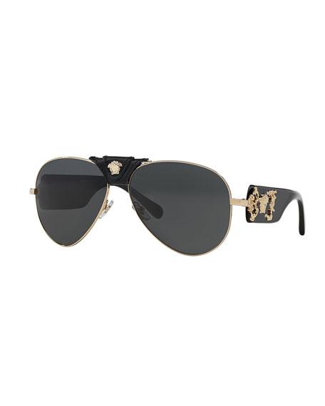 Medusa Aviator Sunglasses