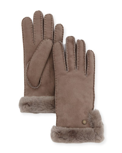 Slim Side-Vent Sheepskin Gloves