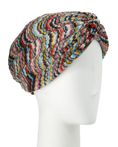Knit Zigzag Turban