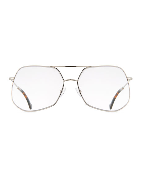 Mesh Aviator Metal Optical Frames