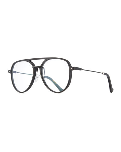 Praph Aviator Optical Frames, Black