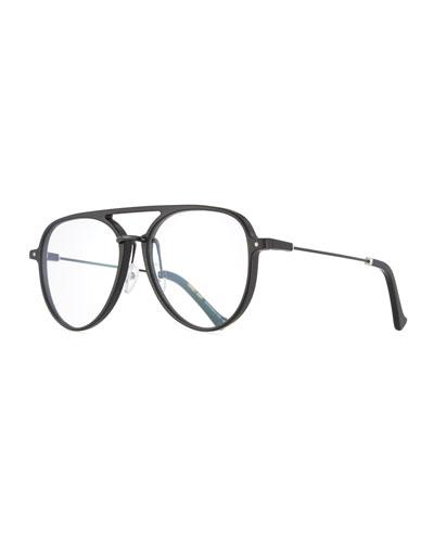 Praph Aviator Optical Frames, Black