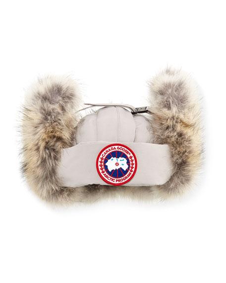 Fur Aviator Hat