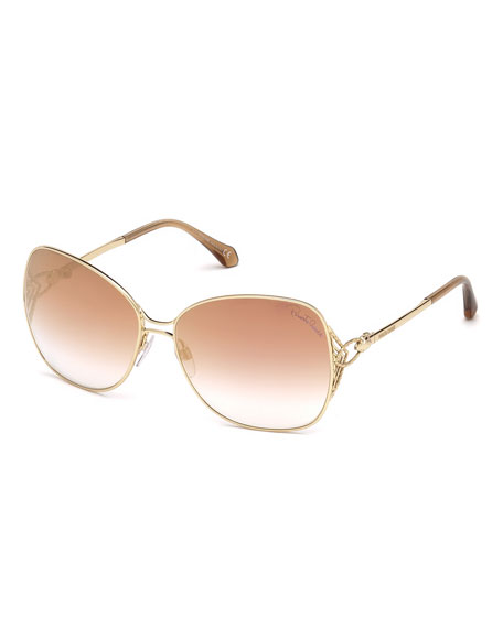Gradient Butterfly Sunglasses