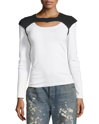 Helmut Lang Re-Edition Saddle Holster Long-Sleeve Tee