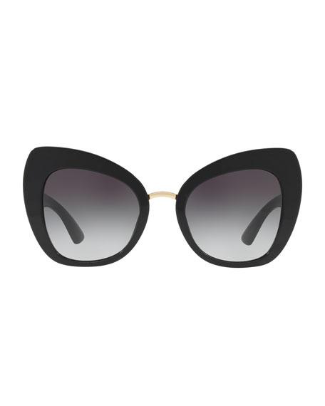 Peaked Cat-Eye Acetate Sunglasses